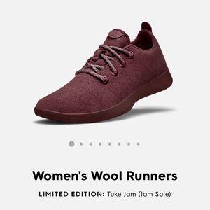 Allbirds Women's Wool Runners Tuke Jam & Jam Sole